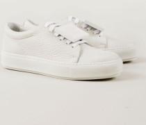Sneaker 'Adriana Grain' Weiß