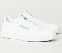 Sneaker 'Club C 85' White/Green - Leder
