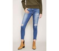 Jeans 'Mid-Rise Legging Ankle' Blau