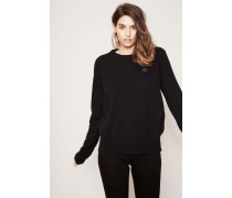 Klassischer Pullover 'Nalon Face' Schwarz
