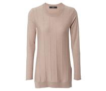 Leichter Long-Pullover Beige