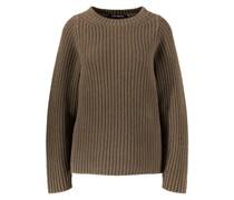 Cashmere-Pullover 'Agnella' Khaki