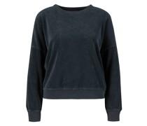 Baumwoll-Sweatshirt 'Teammate' Marineblau