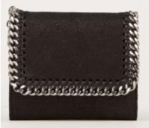 Kleines Portemonnaie 'Small Flap Wallet' Schwarz