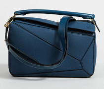 Handtasche 'Puzzle Bag Medium' Indigo