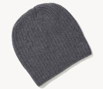 Mütze 'Minna' Grauméliert
