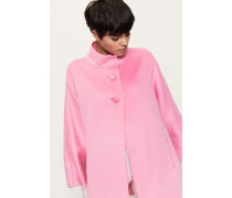 Double Faced Cape 'Gini' Pink