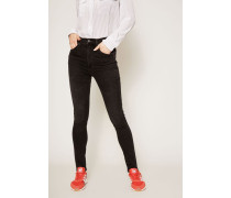 High Rise Skinny Jeans 'Chrissy' Anthrazit