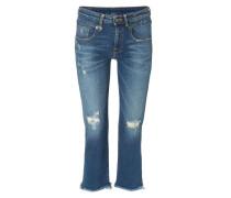 Jeans 'Boy Straight' Mittelblau