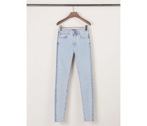 Skinny-Jeans 'Tectonic' Silver