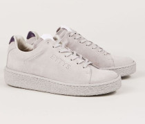 Velourleder-Sneaker 'Ace' Grau