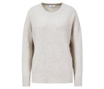 Oversized Cashmere-Pullover Beige/