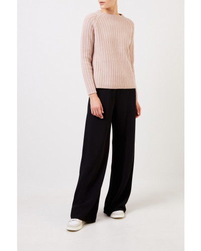 Woll-Cashmere-Pullover Nude
