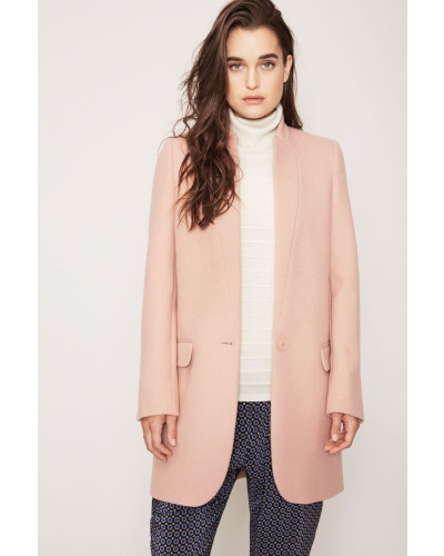 Wollmantel 'Carry Over' Rosé