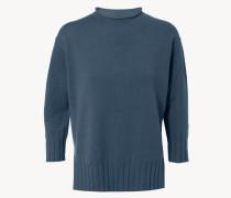 Cashmere-Pullover Taubenblau