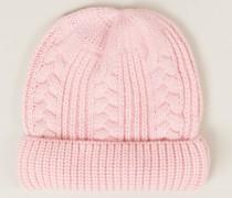 Baby-Cashmere-Mütze Bubblegum Pink