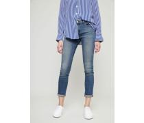 Skinny Jeans 'Le Garcon' Hellblau