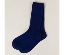 Baby-Cashmere-Socken Deep Sea