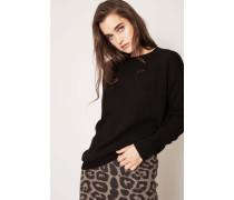 Cashmere-Pullover 'Doris' Schwarz