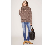 Grobstrick-Cashmere-Pullover 'Sina' Taupe
