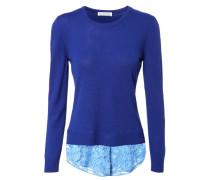 Woll-Pullover 'Walkaloosa' Royal Blue