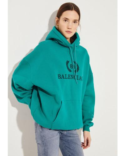 Sweatshirt mit Kapuze Grün