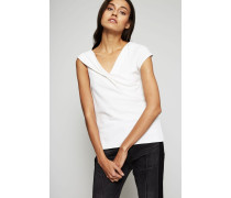 Top 'Knotted Blouse' Ivory