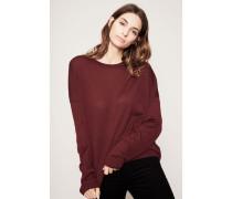 Klassischer Pullover 'Karel Merino' Burgundy