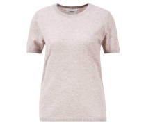 Cashmere Shirt Halbarm  Melange