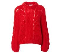 Oversize-Pullover 'Jullard' Rot