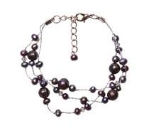 Armband black pearl