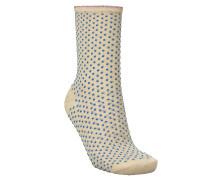 Socken Dina Small Dots in Light Blue