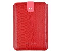 iPad 2 und 3 Case in Snake Pliskin Rot