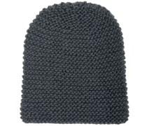 Mütze Handgestrickt in Grau