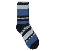 Socken Daphne Block Blau