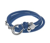 Lederarmband MINI CLASSIC in Blau