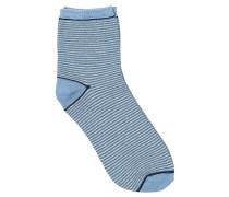 Socken Dalea Stripe in Hellblau