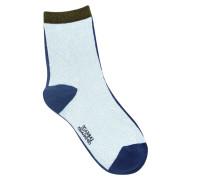 Socken Rebecca Blau