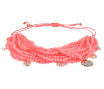 Armband Lucky Charm in Koralle