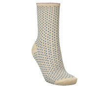 Socken Dina Small Dots Light Blue