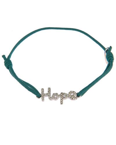 Armband Hope in Grün