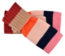 Handschuhe Emo Block in Rosa