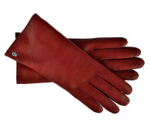 Lederhandschuhe Klassik in Rot