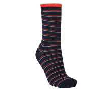 Socken Dory Thin Stripe Blau