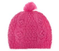 Strickmütze Latifa Pink
