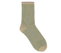 Socken Dina Small Dots Verdant Green