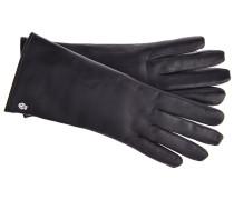 Lederhandschuhe Klassik in Schwarz