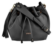Bucket Bag Mimosa in Schwarz