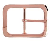 Reptile´s House Gürtelschließe Christine 4 cm Roségold glänzend
