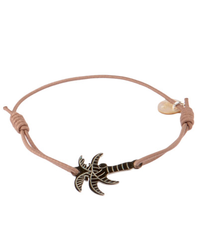 Armband Miami in Taupe